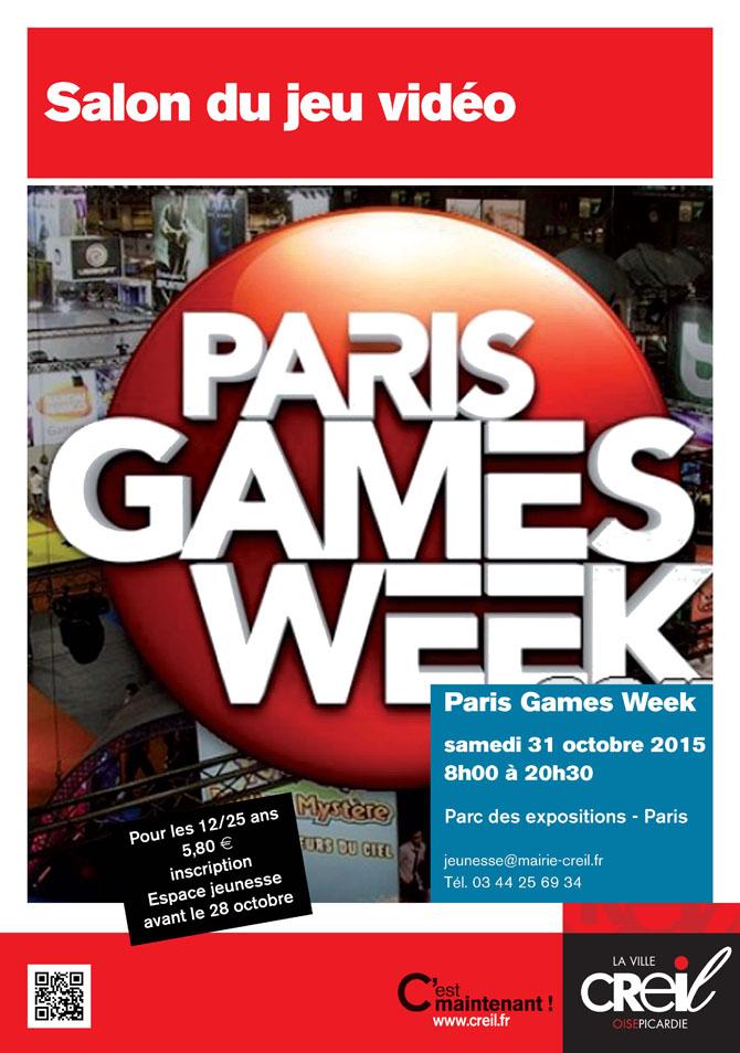 Salon du jeu vid o paris games week d tails d 39 un v nement for Salon jeu video paris