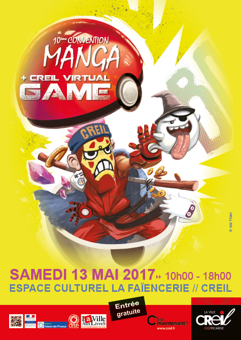 10e Convention Manga et Creil Vitual Game