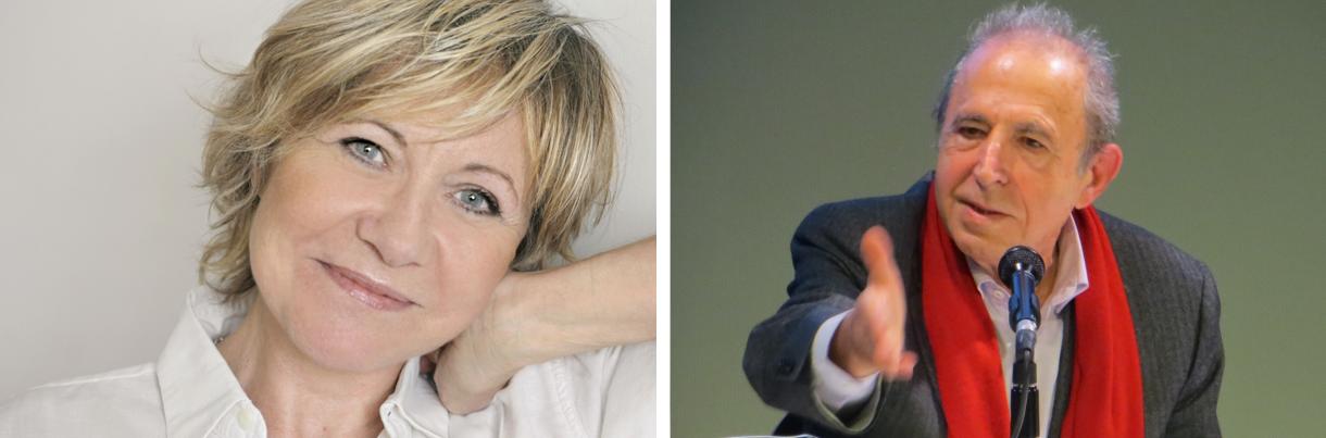 L&aposécrivaine Annie DEGROOTE et le psychanalyste Roland GORI, tous deux invités d&aposhonneur au Salon du Livre 2019